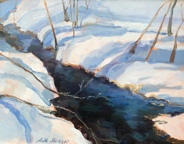 PAUNACUSSING CREEK by Anita Shrager - 16 x 20 in., o/c • $3,000