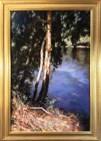 BRAIDED SYCAMORES by Glenn Harrington - 36 x 24 in., o/l in Madary frame • $12,000