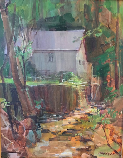 CUTTALOSSA ROAD by Anita Shrager - 20 x 16 in., o/c • $2,900