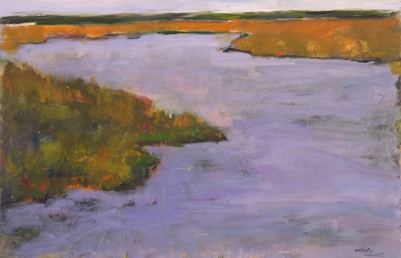 CAPE MAY MARSH by Desmond McRory - 24 x 36 in., o/b • $4,500