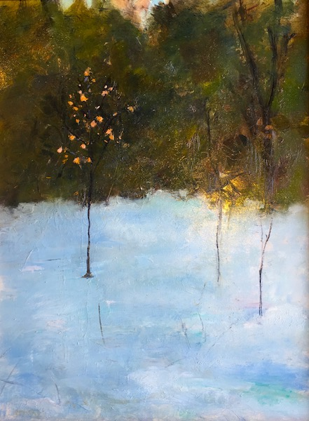 WINTER BIRCH by Desmond McRory - 24 x 18 in., o/b • $2,500