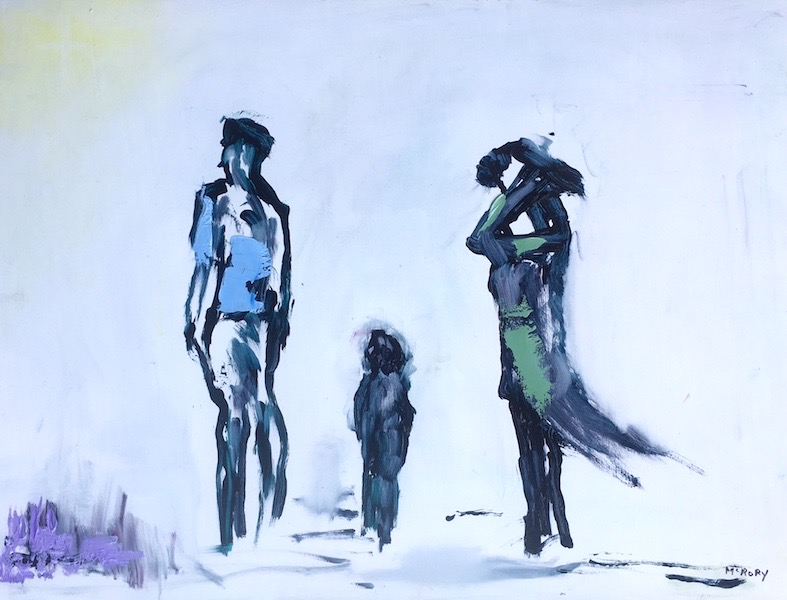 THE FAMILY by Desmond McRory - 18 x 24 in., o/b • $2,500