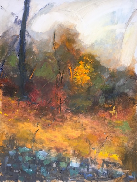 BURNING BUSH by Desmond McRory - 32 x 24 in., o/b • $4,200
