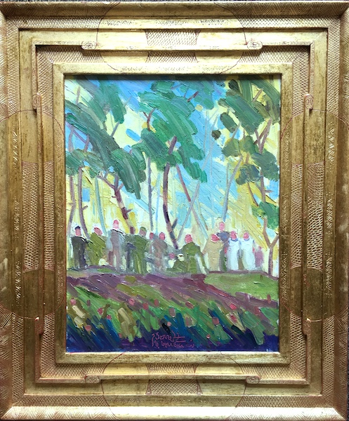 FORESTS EDGE by Joseph Barrett - 18 x 14 in., o/c • $3,300