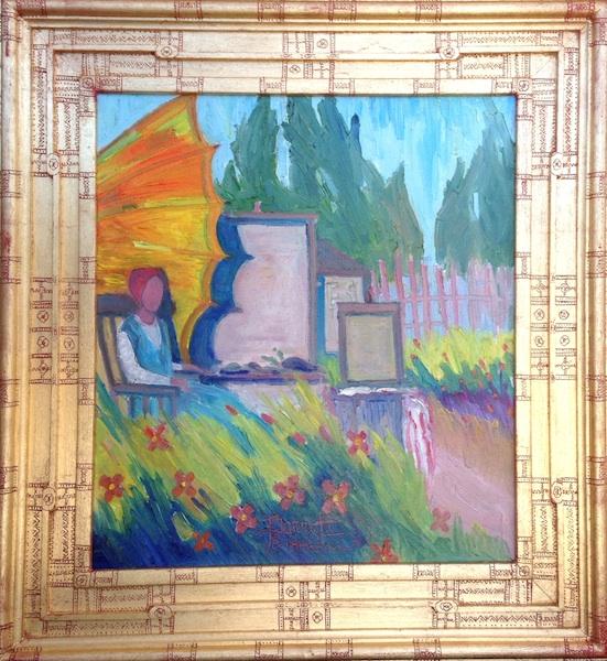 Joseph Barrett_001015_Field of Flowers_Plein Air Painter framed_web