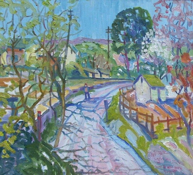 ROAD TO NEW HOPE by Joseph Barrett - 22 x 24 in., o/c • $5,600
