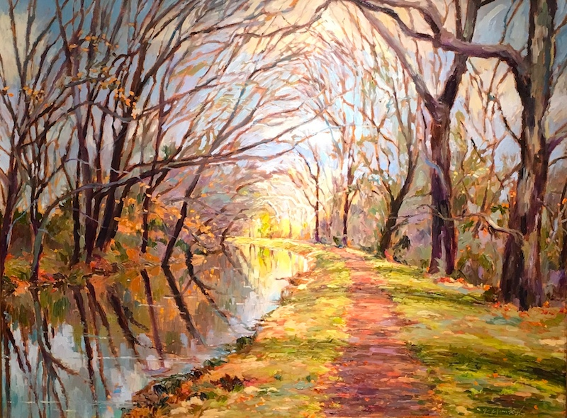 SANCTUARY by Jennifer Hansen Rolli - 30x 40 in., o/c • SOLD
