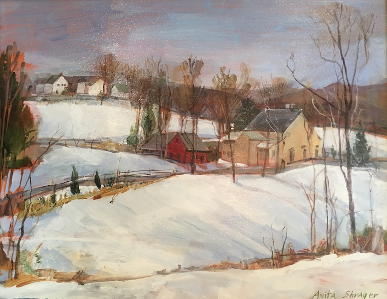SOTTER'S FARM by Anita Shrager - 22 x 28 in., o/c • $4,000
