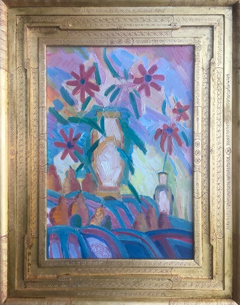 STILL LIFE WITH PEARS by Joseph Barrett - 20 x 14 in., o/c • $4,000