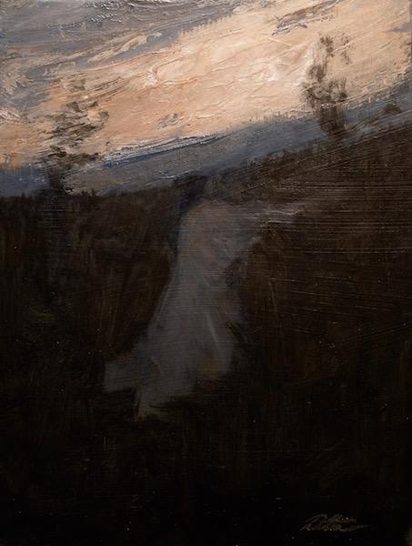 LAST LIGHT by David Stier - 8.5 x 6.5, o/mb • $1,100