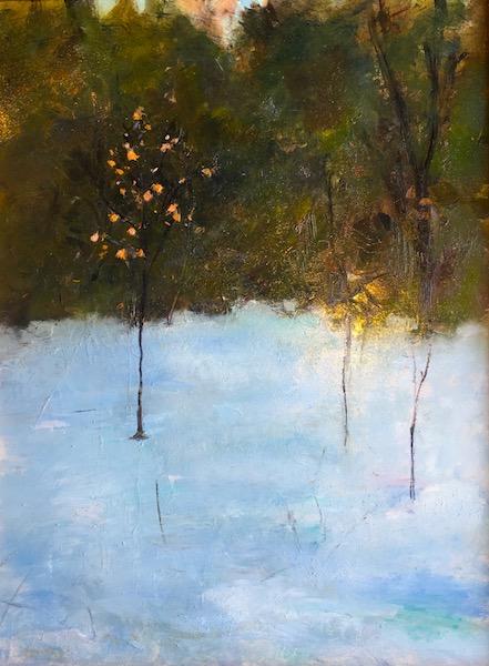 WINTER BIRCH by Desmond McRory - 24 x 18 in., o/b • $2,500