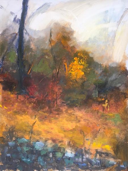 BURNING BUSH by Desmond McRory - 32 x 24 in., o/b • $4,200