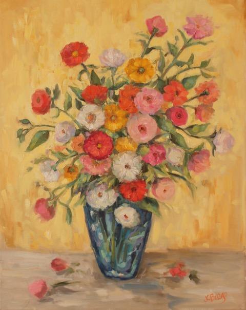 JOY by Jean Childs Buzgo - 16 x 20 in, o/c • $1,800