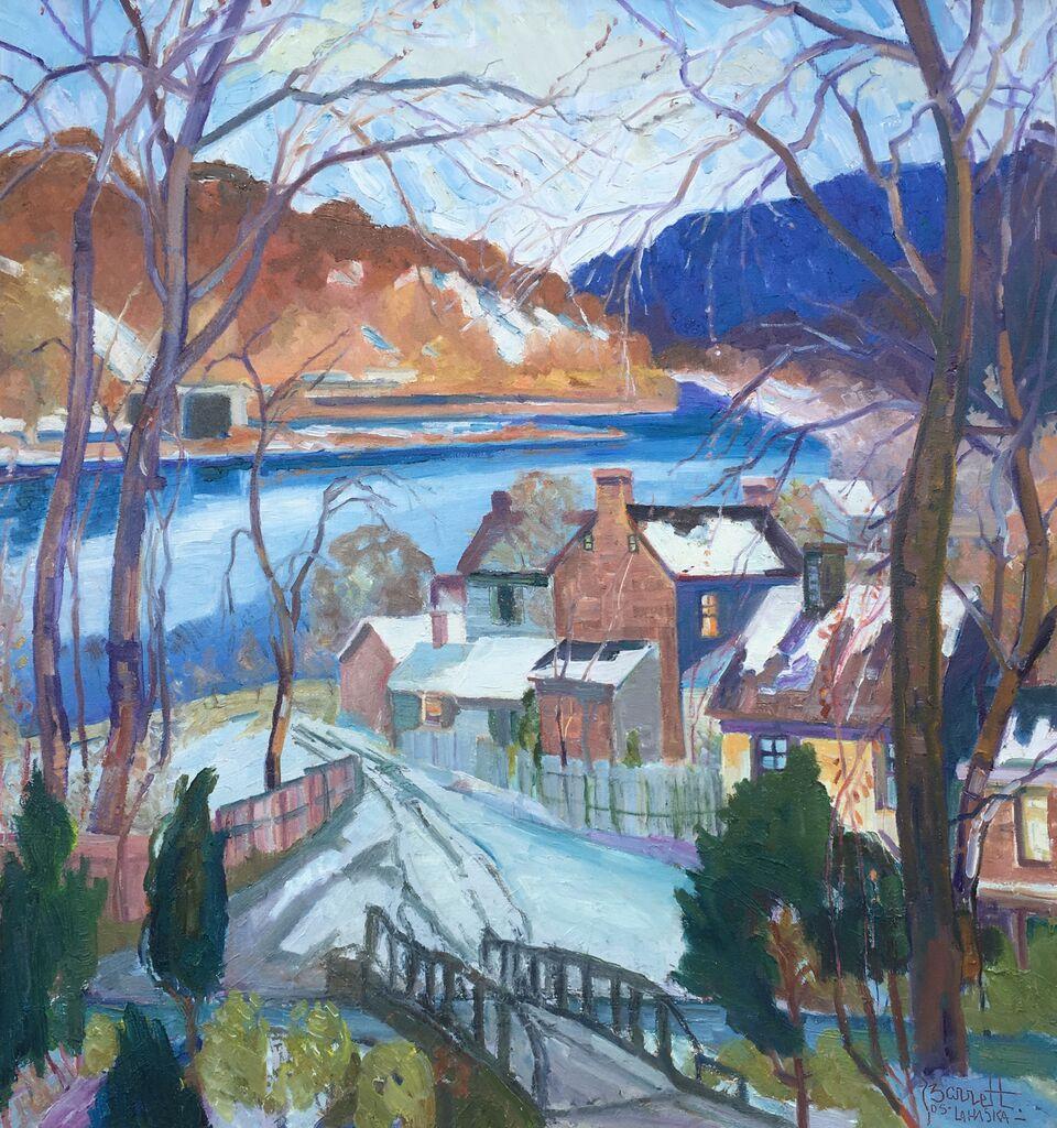 Joseph Barrett @ The Silverman Gallery