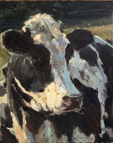 DAISY by Jennifer Hansen Rolli - 10 x 8 in., o/b • SOLD