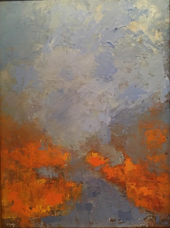CREEK by Desmond McRory - 24 x 18 in., o/b • $2,500