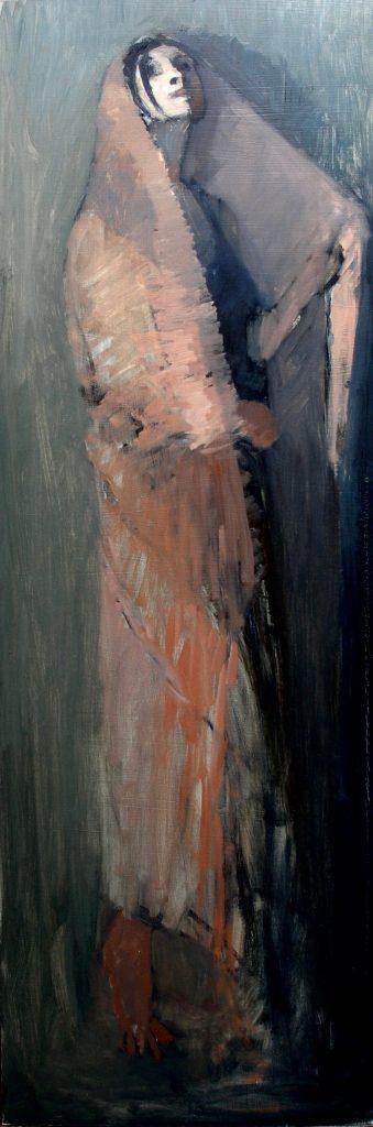 OF SIGHT & MIND by David Stier - 48 x 16 in., o/b • $6,000 (in custom David Madary frame)