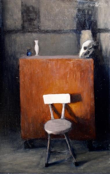 STUDIO STILL LIFE II by David Stier - 25.25 x 16.25 in., o/b • $4,200