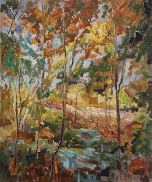 AQUETONG CREEK by Jean Childs Buzgo - 24 x 20 in., o/c • $3,000