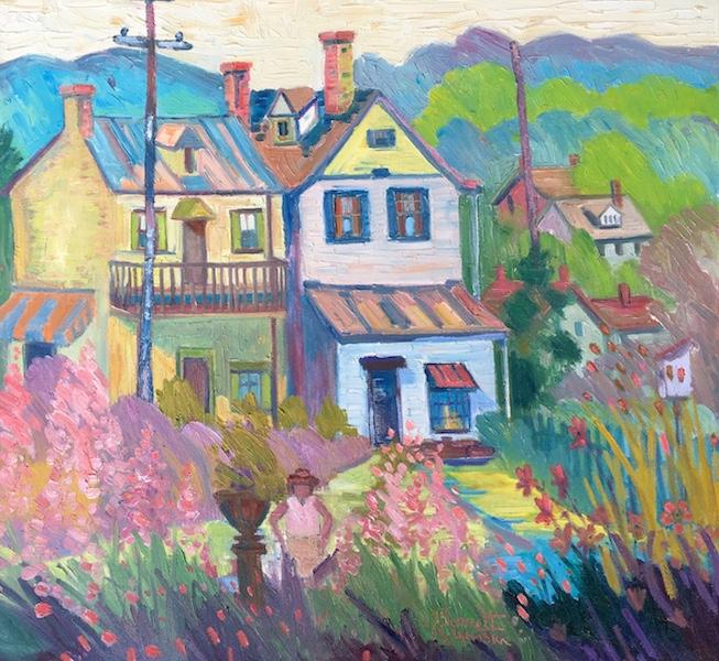 LAMBERTVILLE by Joseph Barrett - 28 x 30 in., o/c • $9,500