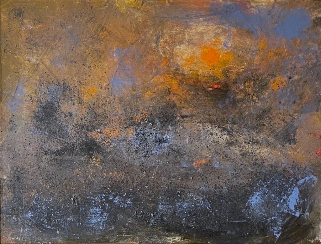 FERRO by Desmond McRory - 30 x 40 inches, oil on board • $6,000